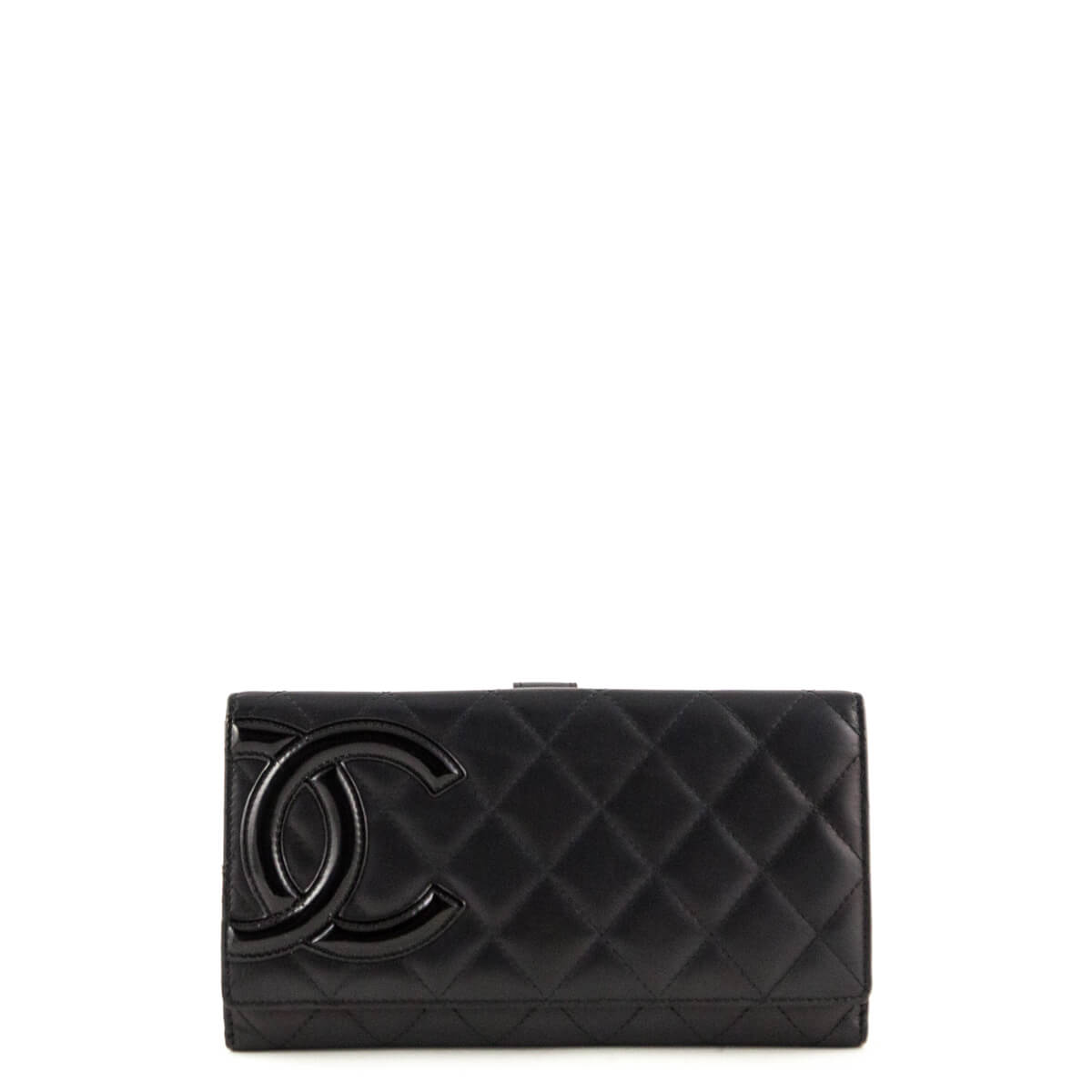 8d94f9695bcc Chanel Black Quilted CC Cambon Wallet - LOVE that BAG - Preowned Authentic  Designer Handbags ...