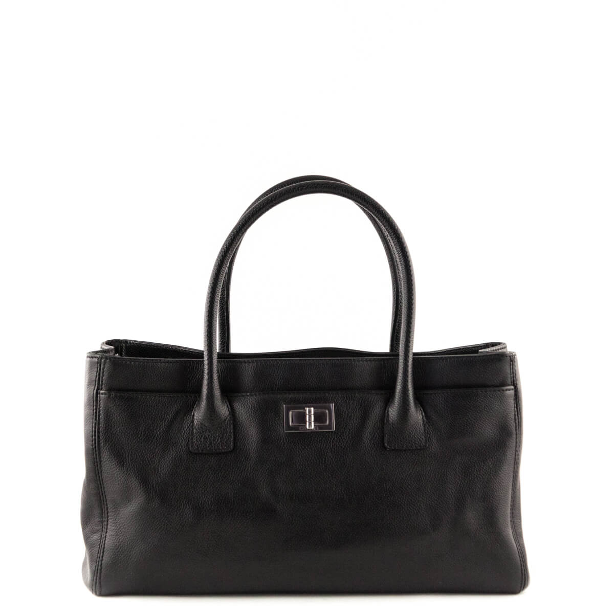 4f196938165d Chanel Black Cerf E W Reissue Tote Bag - LOVE that BAG - Preowned Authentic  ...