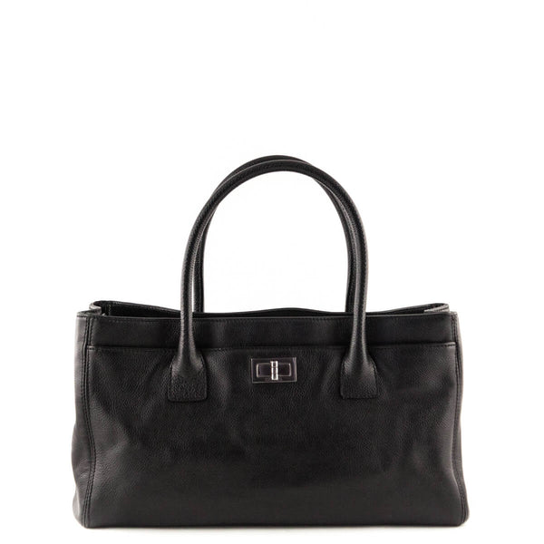775aac7e9351aa Chanel Black Cerf E/W Reissue Tote Bag - LOVE that BAG - Preowned Authentic