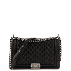 Chanel Black New Medium Boy Bag