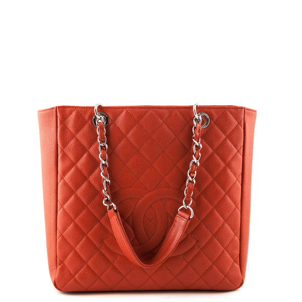 2bc936c7a1ab Chanel Orange Caviar PST XL - LOVE that BAG - Preowned Authentic Designer  Handbags