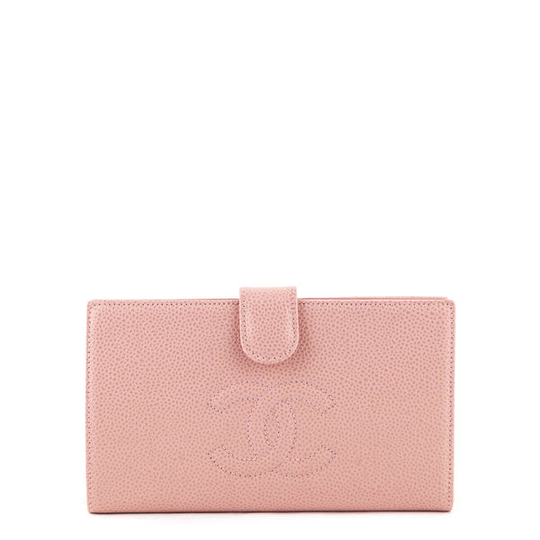 29ebab7ca8 Chanel Pink Caviar Timeless French Purse Wallet - LOVE that BAG - Preowned  Authentic Designer Handbags
