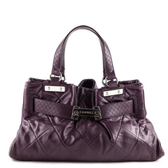 Chanel Purple Shoulder Bag - 1