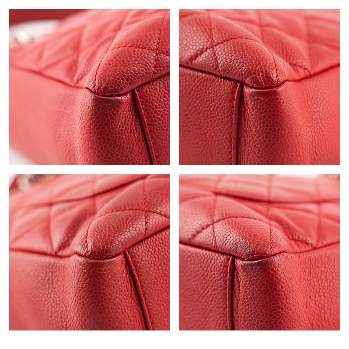 b41336d9ca53c ... Chanel Red Caviar Petit Shopping Tote SHW - LOVE that BAG - Preowned  Authentic Designer Handbags ...
