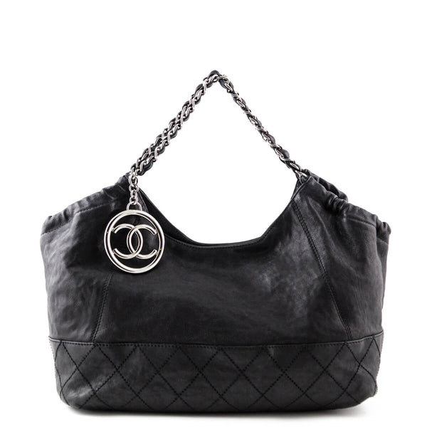 27a16553d5811c Chanel Black Calfskin Baby Coco Cabas Bag - LOVE that BAG - Preowned  Authentic Designer Handbags
