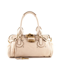 Chloe Cream Paddington Bag - 1