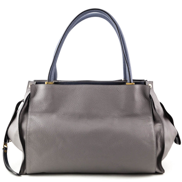 bbfed65121 Chloe Gray Calfskin Dree Tote - LOVE that BAG - Preowned Authentic Designer  Handbags
