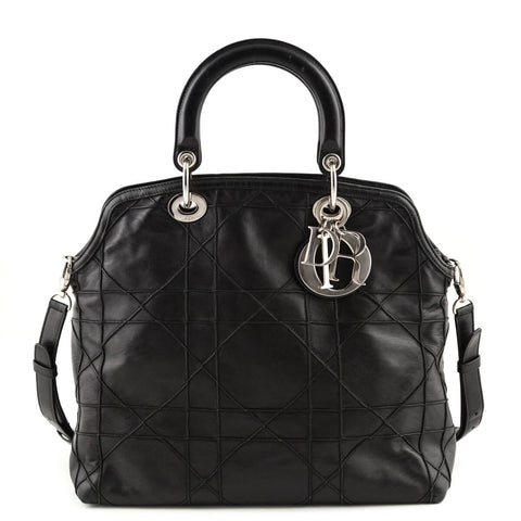 d8a0c548671f Gucci Metallic Purple Soho Chain Shoulder Bag. $740.00 USD · Dior Black  Cannage Quilted Granville Tote