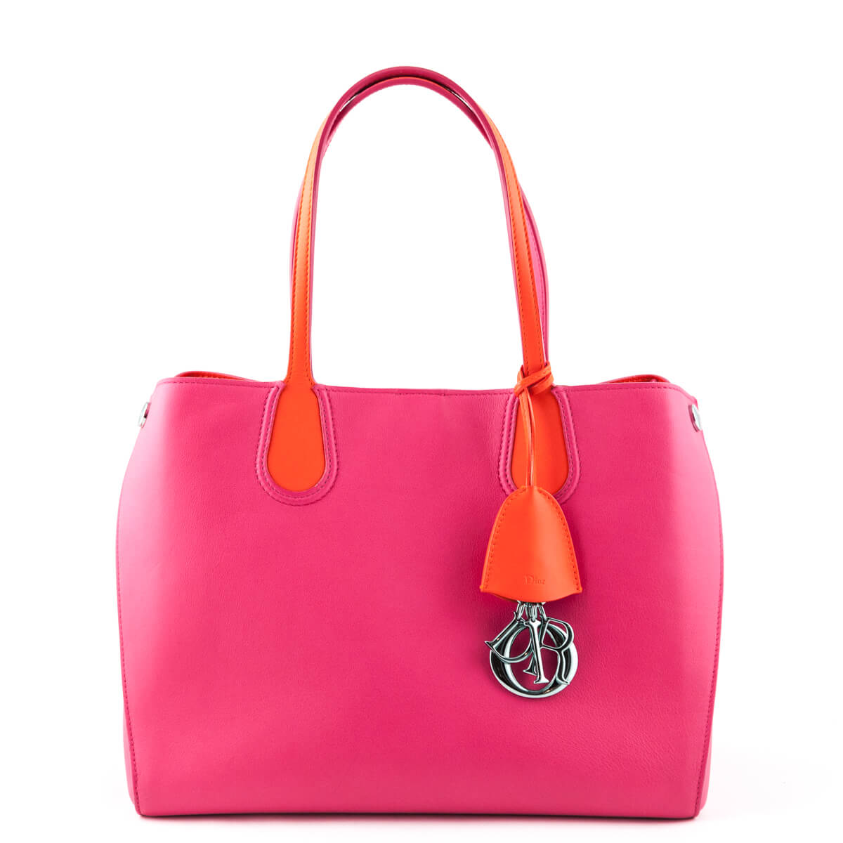 9aa87cefb Dior Fuchsia Small Dior Addict Shopping Tote Bag - LOVE that BAG - Preowned  Authentic Designer ...
