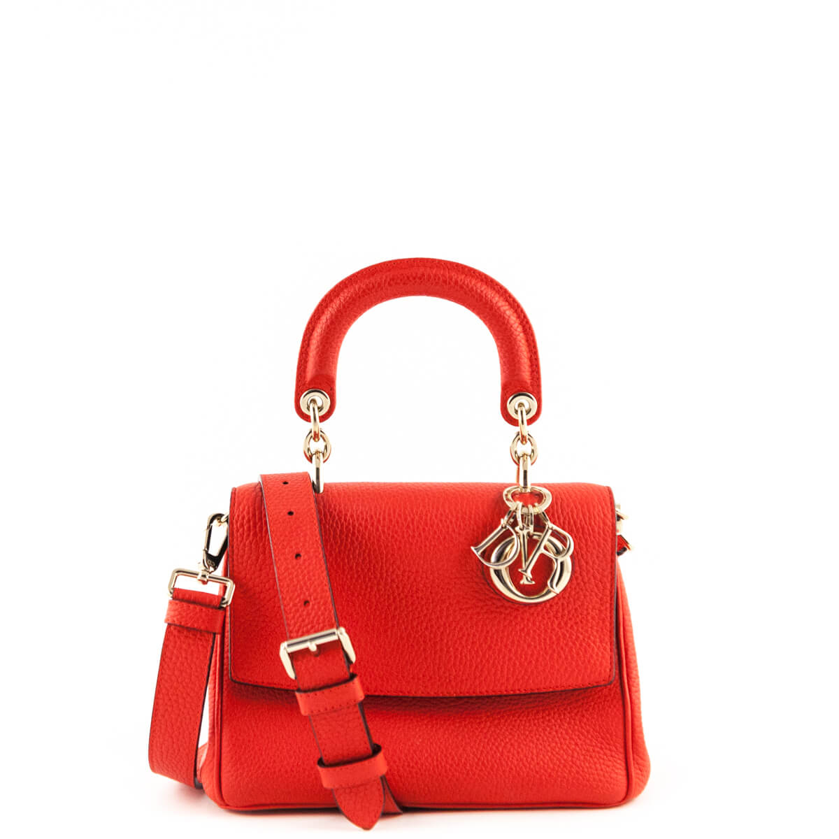 7d7e3c925a16 Dior Red Diorissimo Small Be Dior Flap Bag - LOVE that BAG - Preowned  Authentic Designer ...