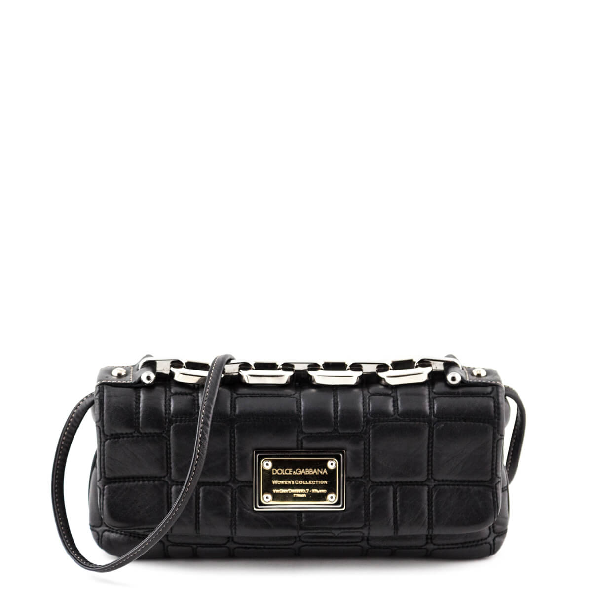 5665ee8225 Dolce   Gabbana Black Miss Deco Shoulder Bag - LOVE that BAG - Preowned  Authentic Designer ...