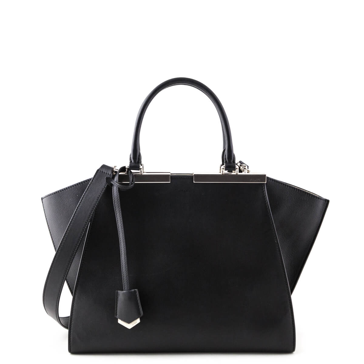 beb5bf8865ff Fendi Black Calfskin 3 Jours Tote - LOVE that BAG - Preowned Authentic  Designer Handbags ...