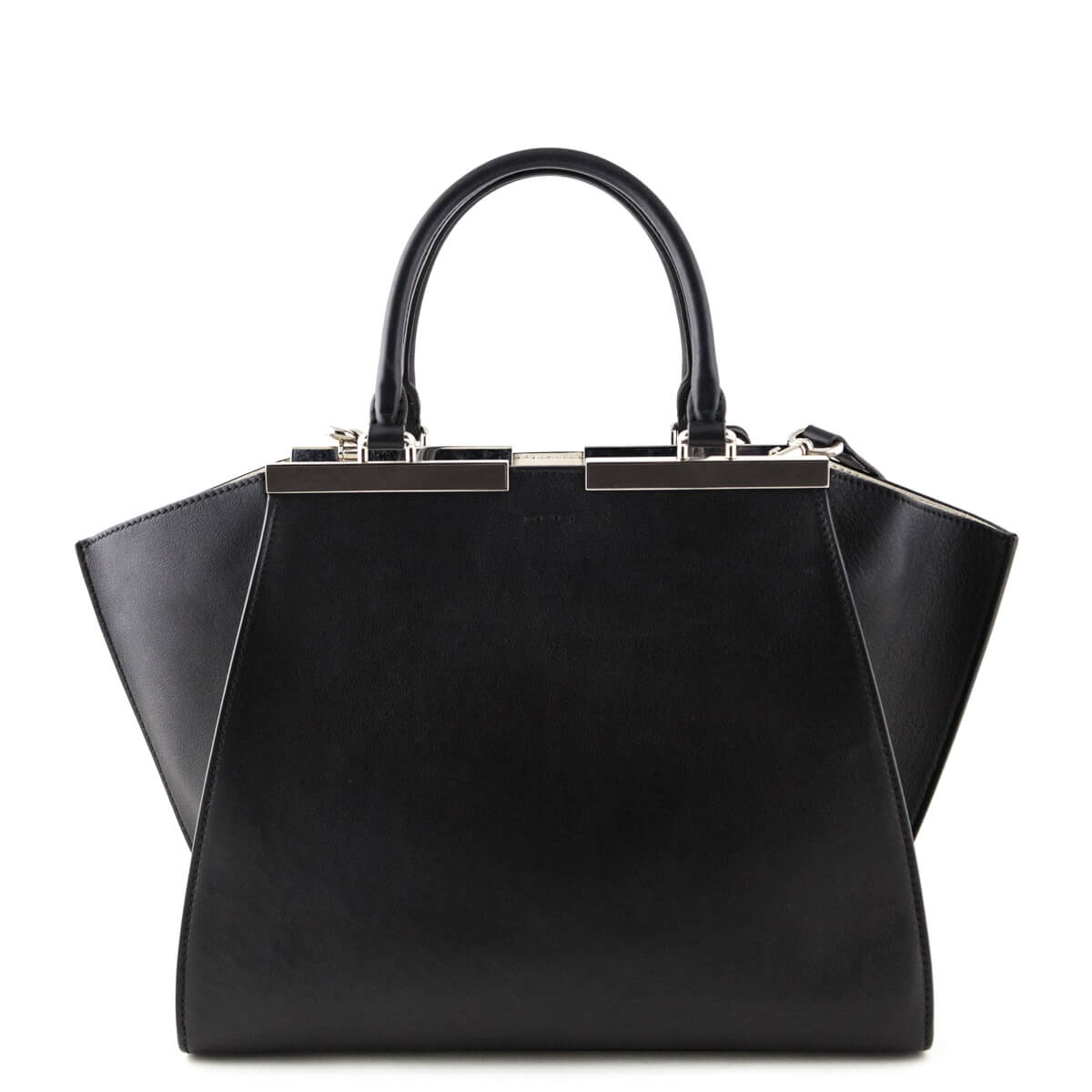 716928f824e4 ... Fendi Black Calfskin 3 Jours Tote - LOVE that BAG - Preowned Authentic  Designer Handbags ...