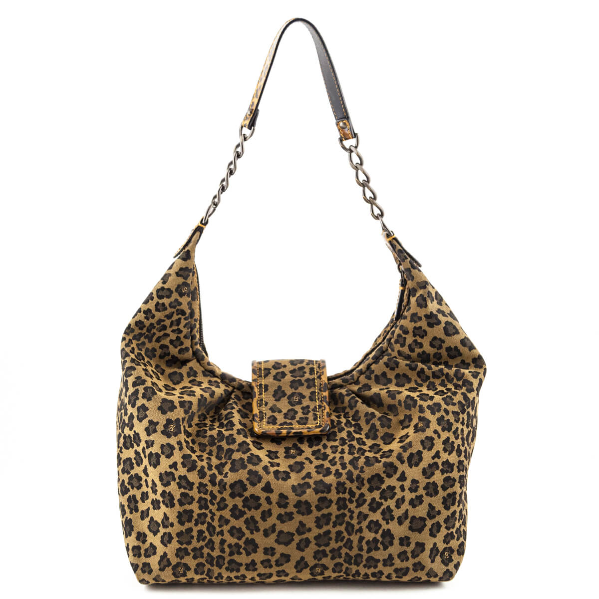 ... Fendi Leopard Canvas B. Hobo bag - LOVE that BAG - Preowned Authentic  Designer Handbags ... d58c581a7ebf2