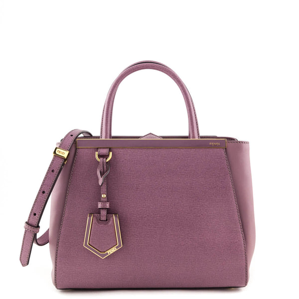 ad9b1d52a012 Fendi Lilac Vitello Petite 2Jours Tote - LOVE that BAG - Preowned Authentic  Designer Handbags