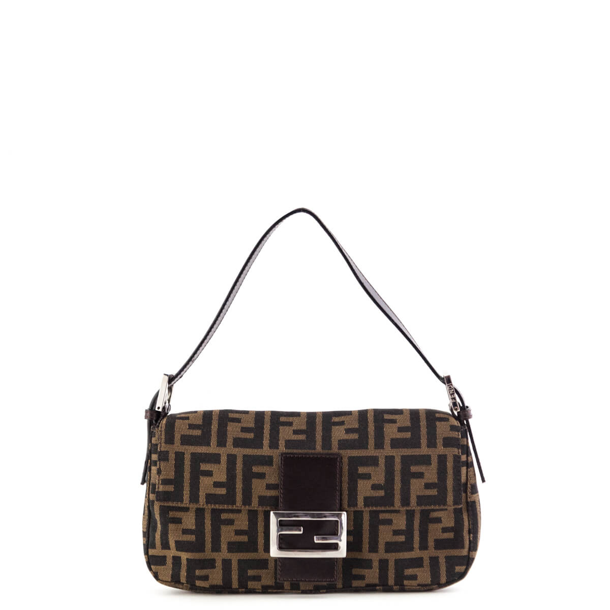 9c0ffa8b2bf7 Fendi Zucca Baguette Shoulder bag - LOVE that BAG - Preowned Authentic  Designer Handbags ...
