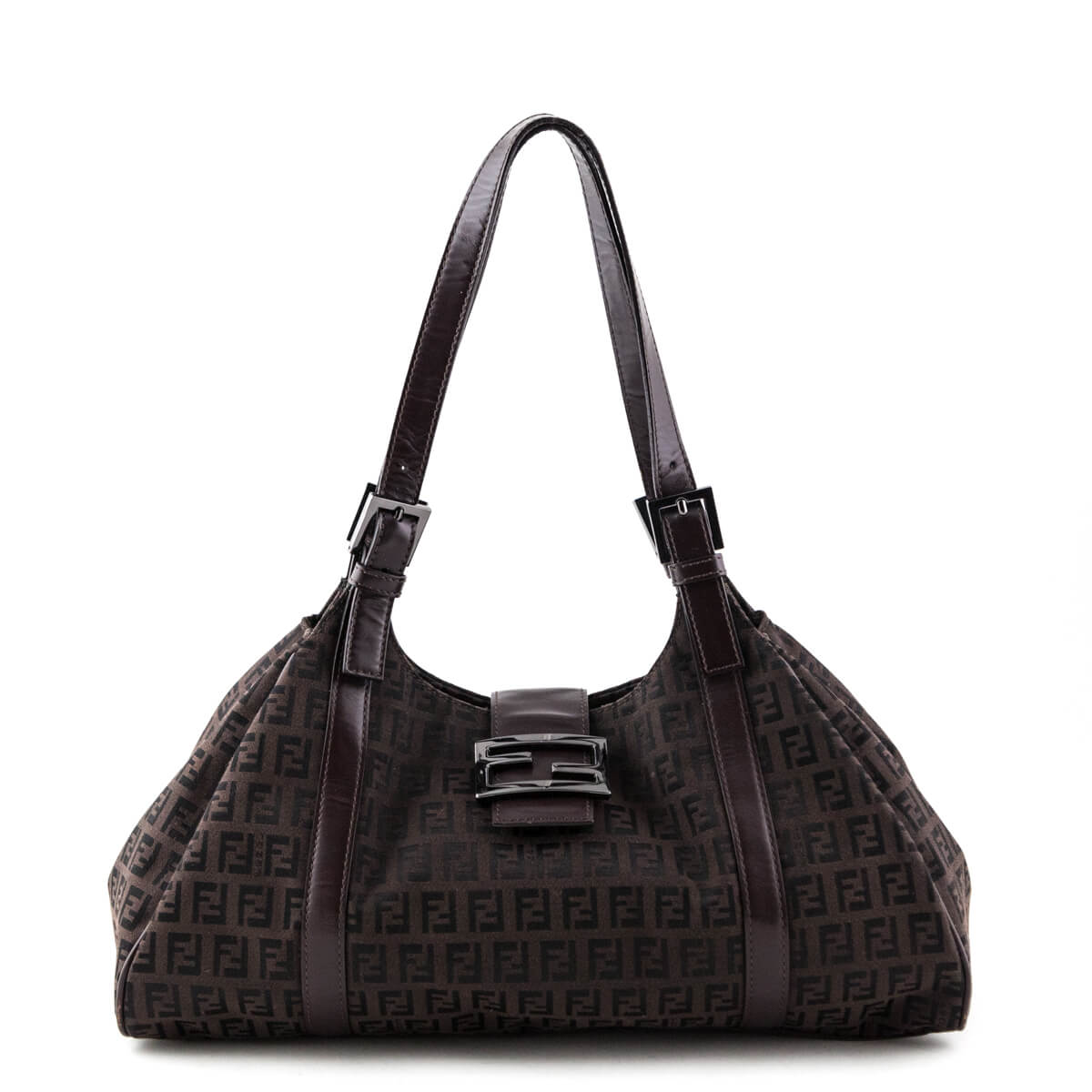 6d1e8fe12a Fendi Zucchino Canvas Sporty bag - LOVE that BAG - Preowned Authentic  Designer Handbags ...