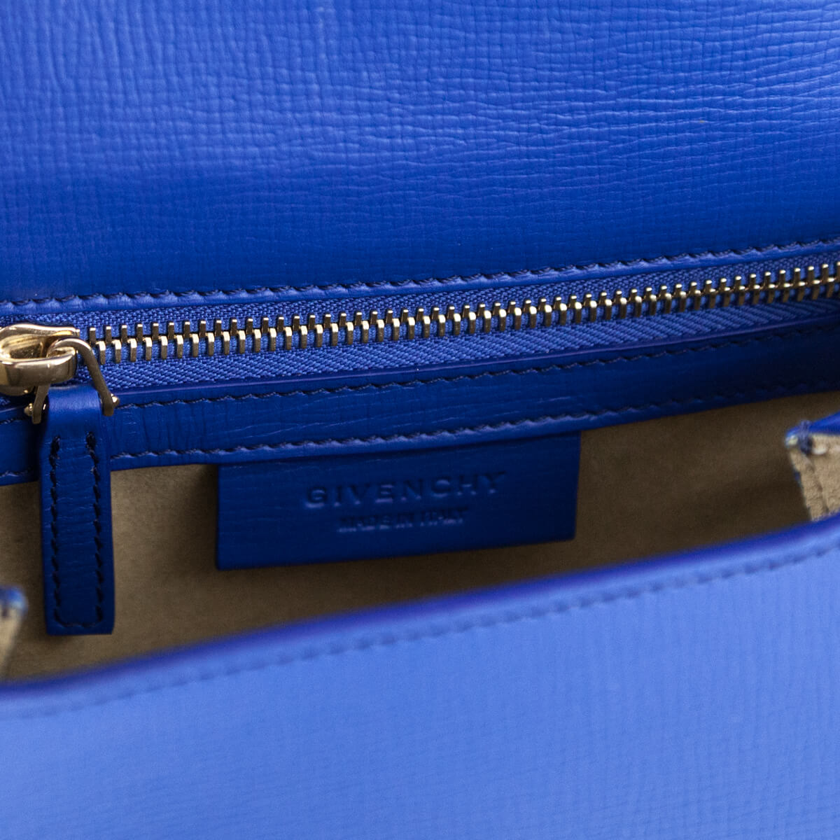 808338e98720 ... Givenchy Indigo Blue Calfskin Mini Pandora Box Shoulder Bag - LOVE that  BAG - Preowned Authentic ...