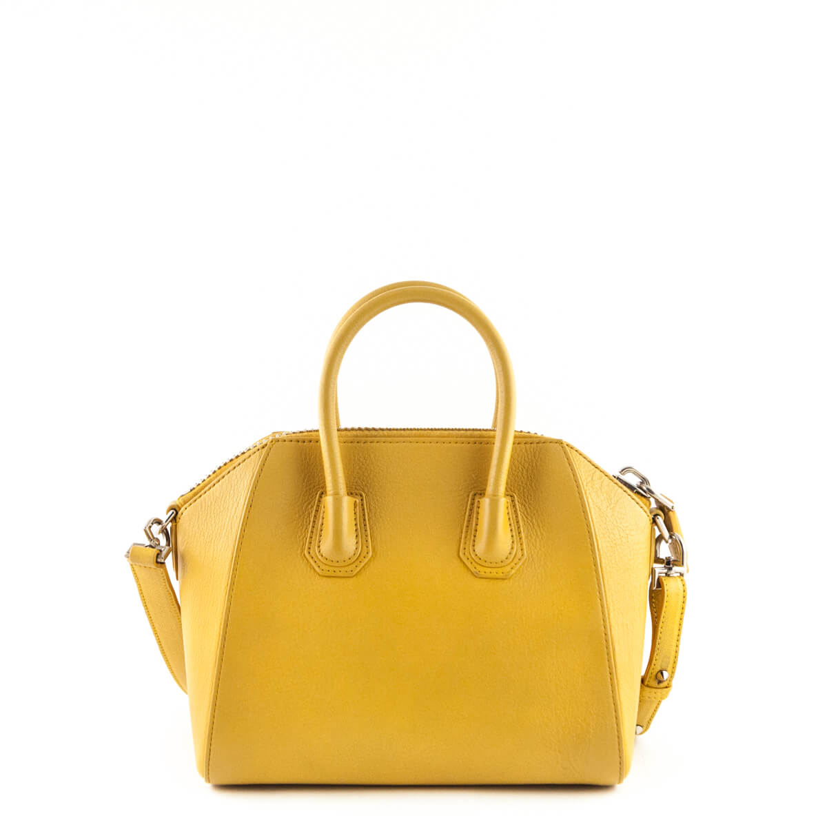 outlet for sale top-rated original newest collection Givenchy Mustard Goatskin Mini Antigona