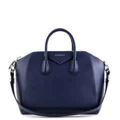 Givenchy Navy Blue Medium Antigona - 1