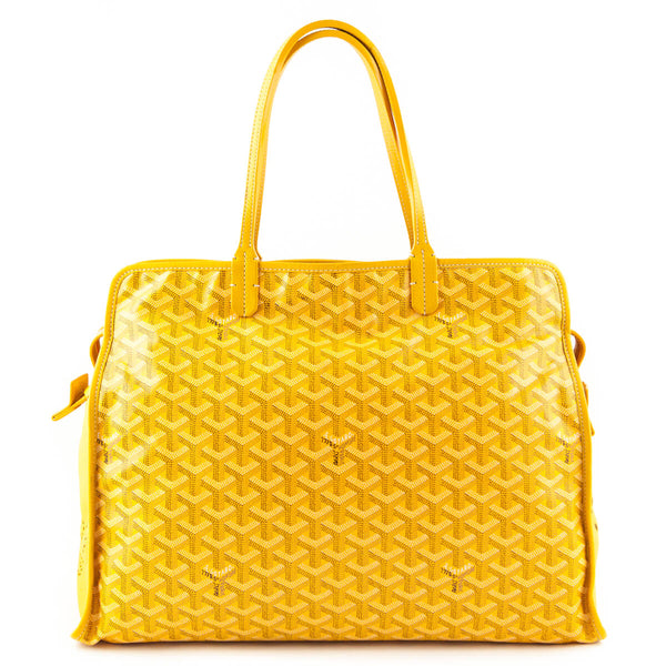 a34a7e55f6fd Goyard Yellow Goyardine Sac Hardy Pet PM - LOVE that BAG - Preowned  Authentic Designer Handbags