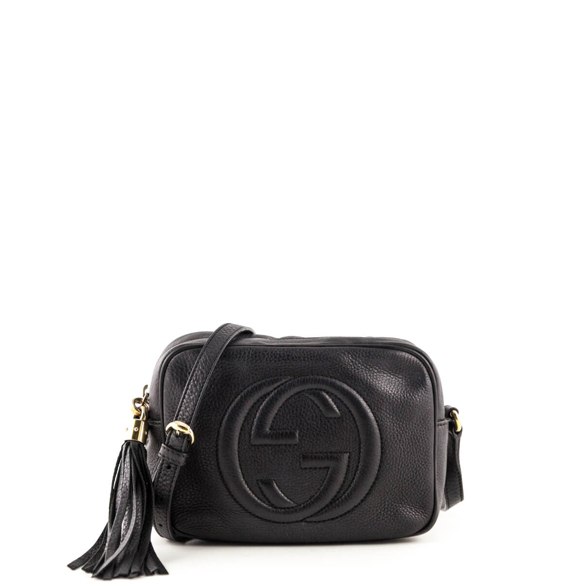 7d79606889feac Gucci Anthracite Soho Disco - LOVE that BAG - Preowned Authentic Designer  Handbags ...
