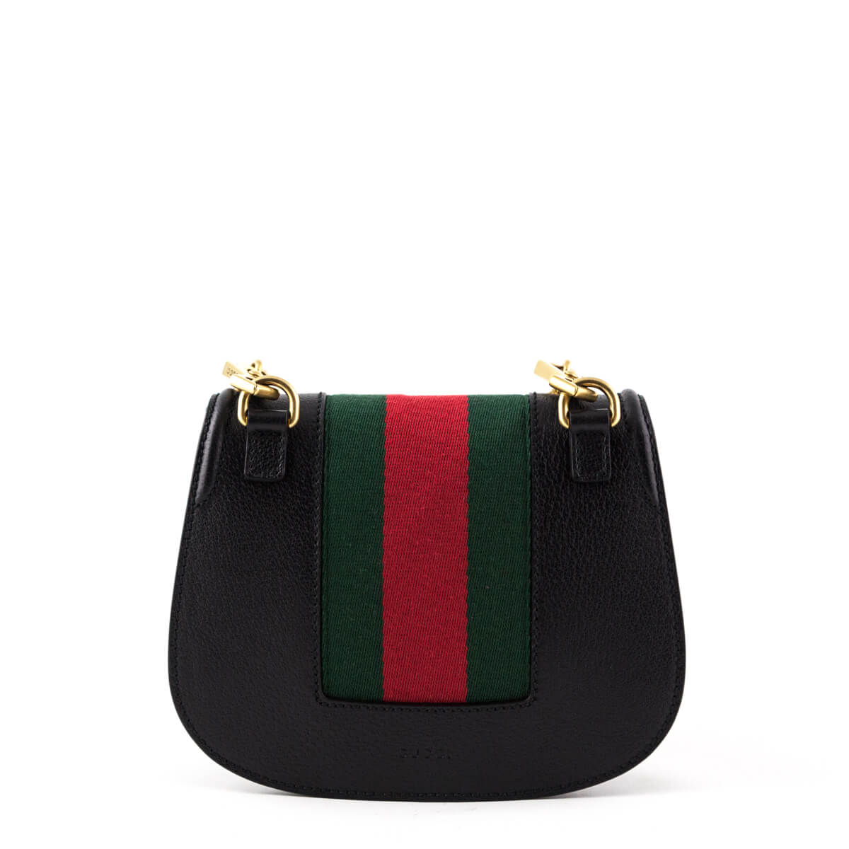 78b6b9bdb3ca ... Gucci Black Crystal Butterfly Small Linea Totem Shoulder Bag - LOVE  that BAG - Preowned Authentic ...