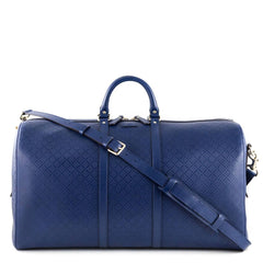 Gucci Blue Bright Diamante Carry On Duffle - 1