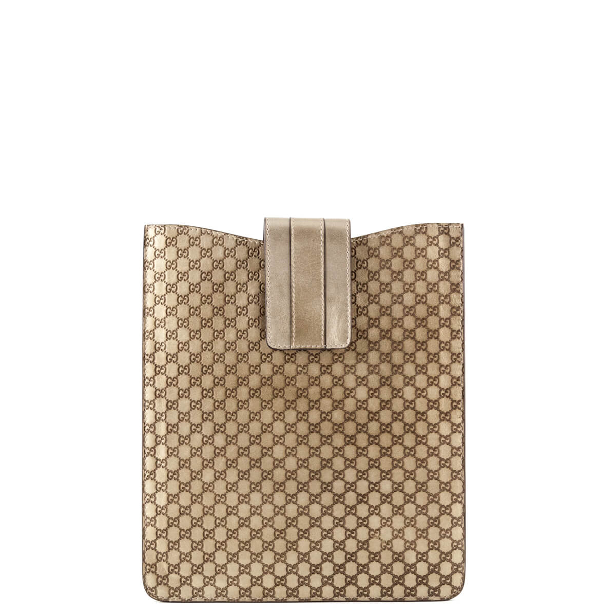 5385e697111 Gucci Bronze Guccissima iPad Sleeve - LOVE that BAG - Preowned Authentic  Designer Handbags ...