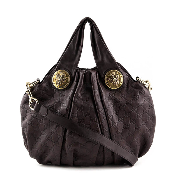 5012e2c00913 Gucci Brown Guccissima Small Hysteria Hobo - LOVE that BAG - Preowned  Authentic Designer Handbags
