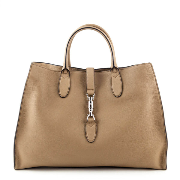 Gucci Camel Soft Leather Large Jackie Top Handle Bag - LOVE that BAG - Preowned  Authentic e17c74e0b06f8
