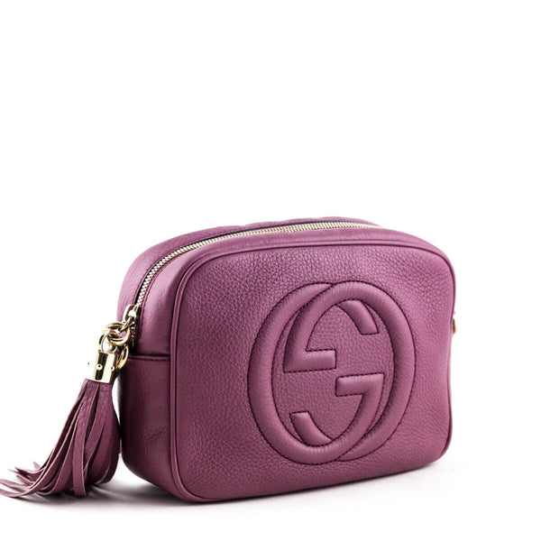 615770d88cdc94 GUCCI SOHO   LOVE That BAG - Pre-Owned Authentic Designer Handbags