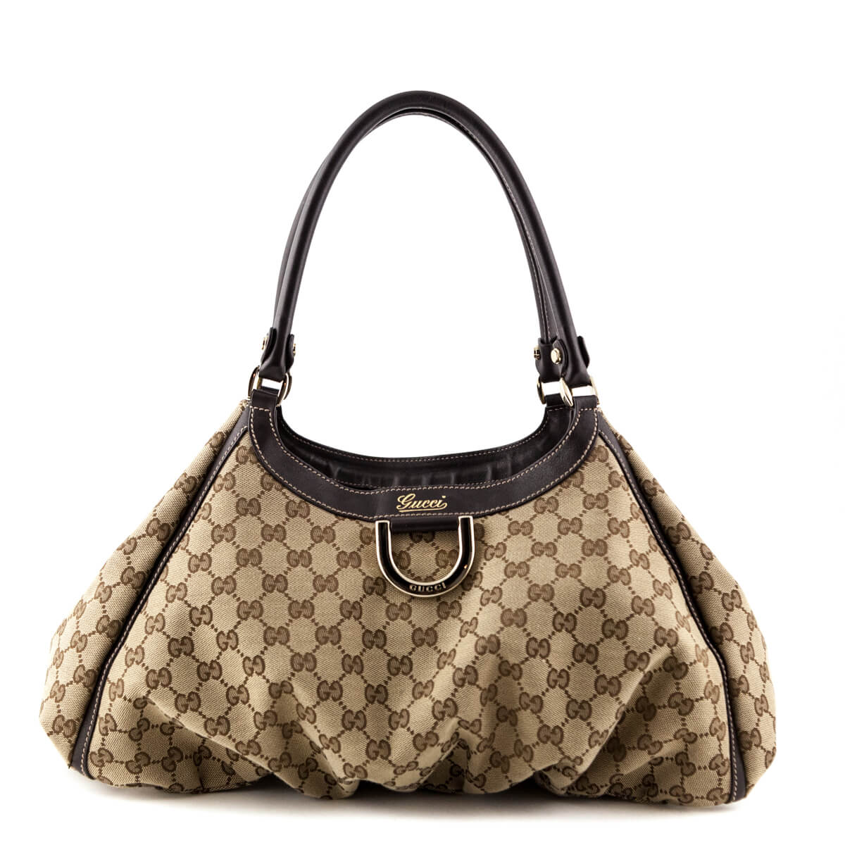 5a6443baf64 Gucci GG Large D-Ring Hobo Bag - LOVE that BAG - Preowned Authentic  Designer ...