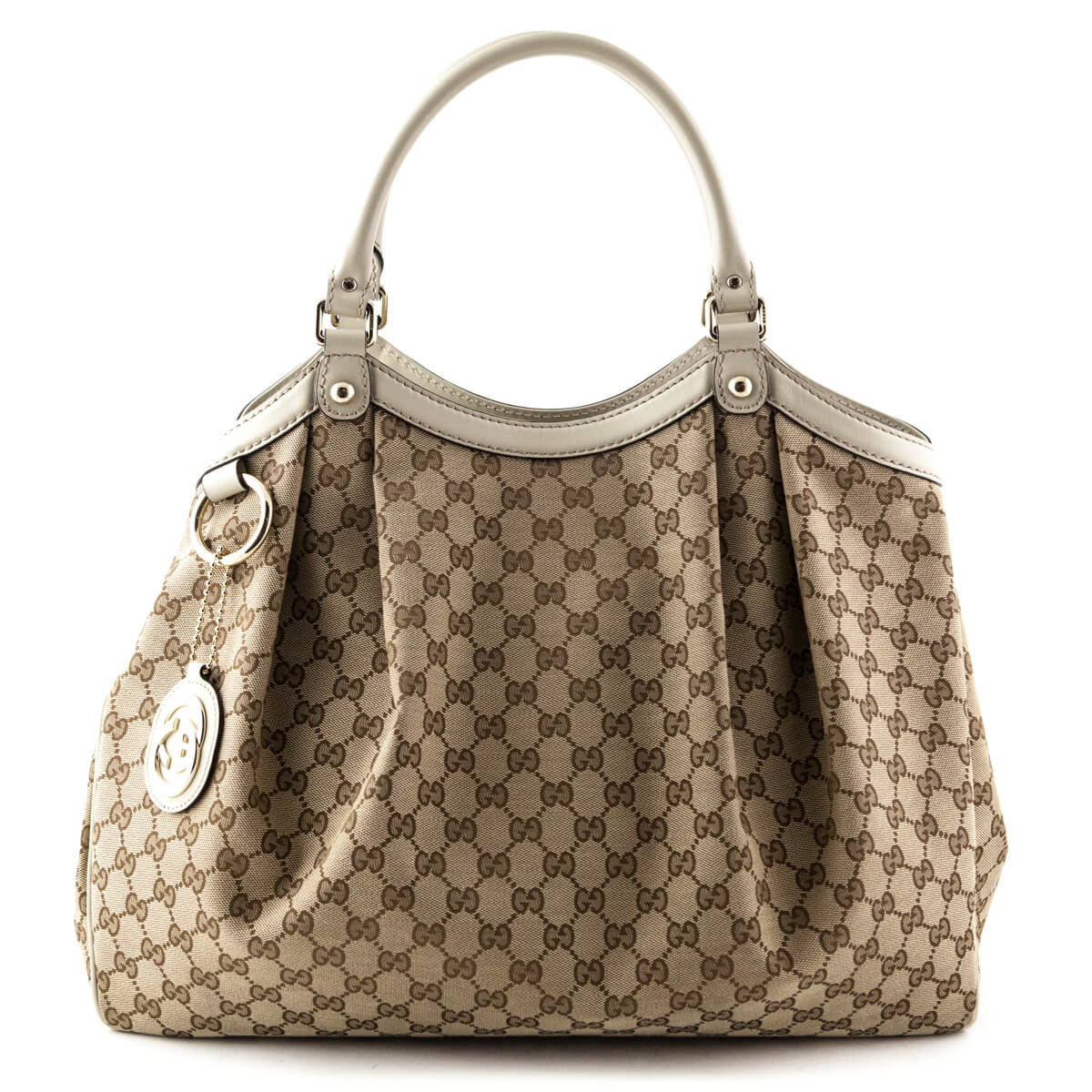 3a1833636fb9 Gucci GG Canvas Large Sukey Tote - LOVE that BAG - Preowned Authentic  Designer Handbags ...
