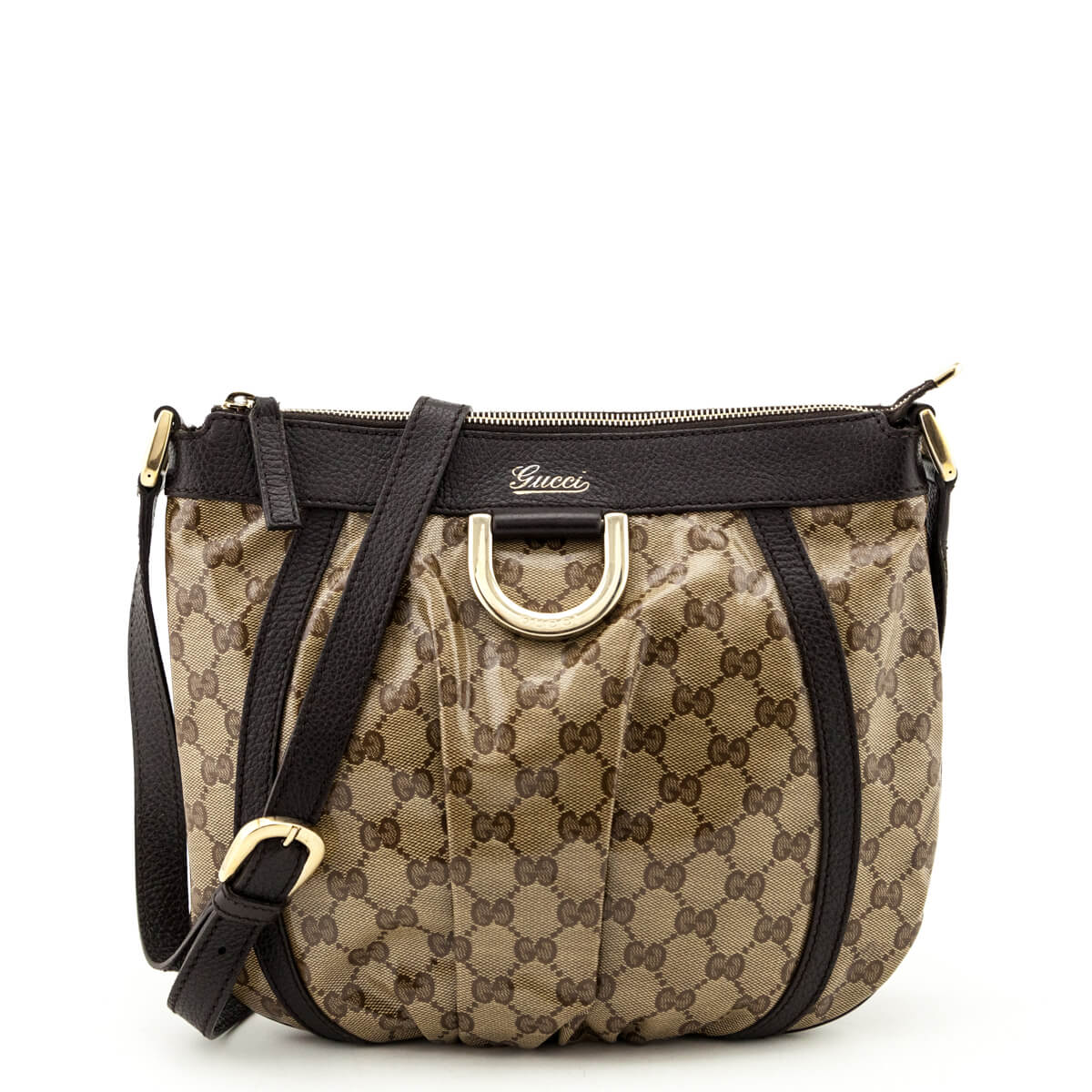 66d54c793 Gucci GG Crystal D-Ring Crossbody Bag - LOVE that BAG - Preowned Authentic  Designer ...