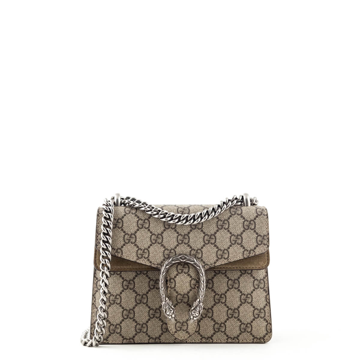 f7ef86052ac0 Gucci GG Monogram Coated Canvas Mini Supreme Dionysus - LOVE that BAG -  Preowned Authentic Designer ...