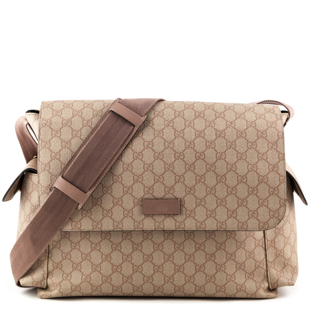 a1e8eb984f4 Gucci GG Monogram Diaper Bag - LOVE that BAG - Preowned Authentic Designer  Handbags ...