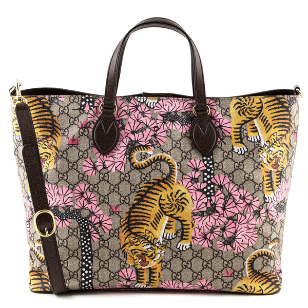 ebe1c3a89f1c Gucci GG Supreme Soft Bengal Tote - LOVE that BAG - Preowned Authentic  Designer Handbags