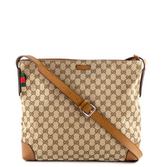 Gucci Monogram Canvas Messenger - 1