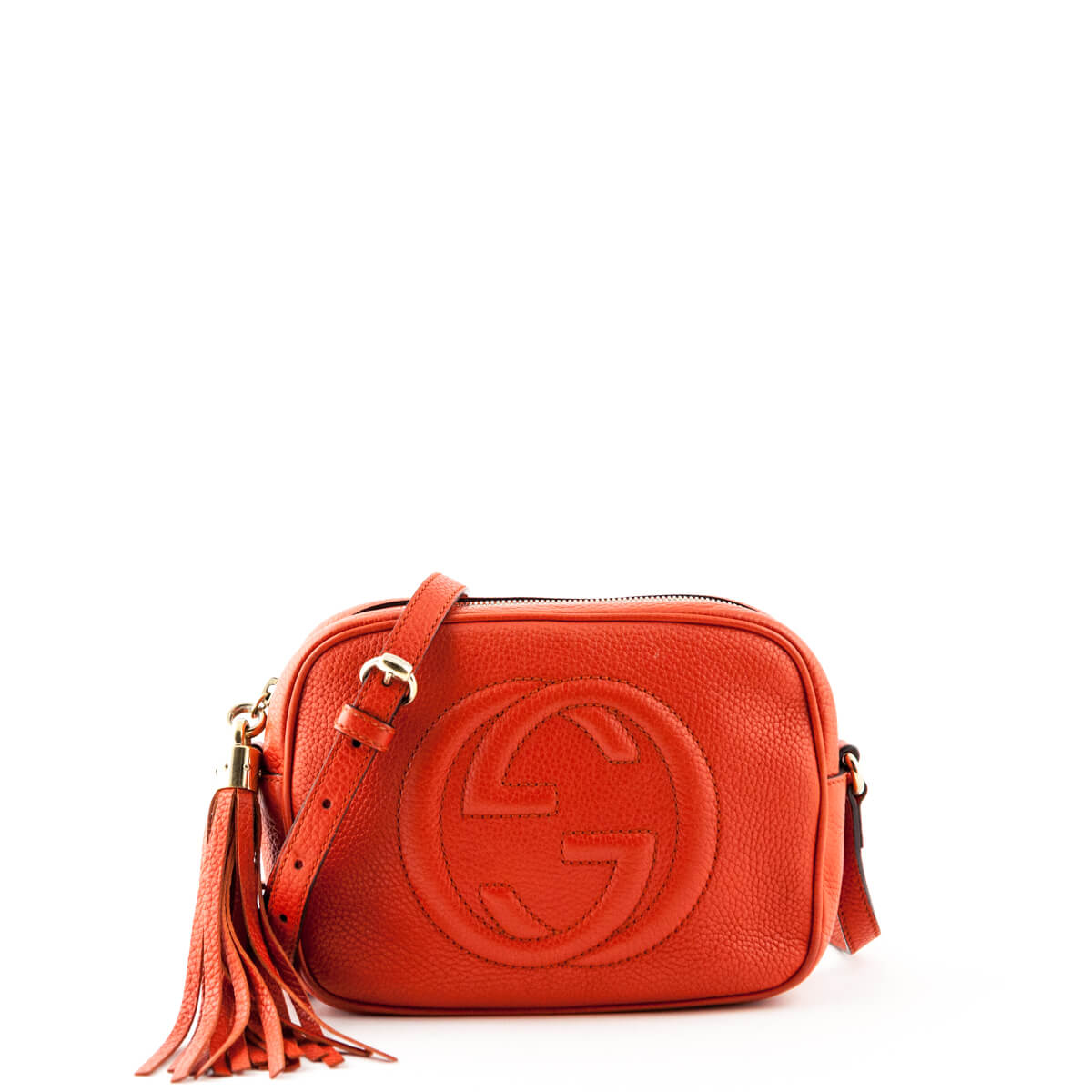 b47208ad1394 Gucci Orange Soho Disco - LOVE that BAG - Preowned Authentic Designer  Handbags ...