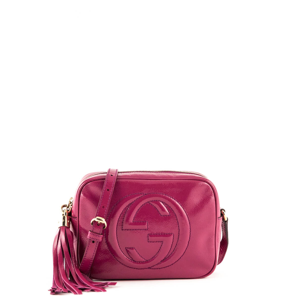 bbbac5428f19 Gucci Pink Patent Soho Disco - LOVE that BAG - Preowned Authentic Designer  Handbags ...