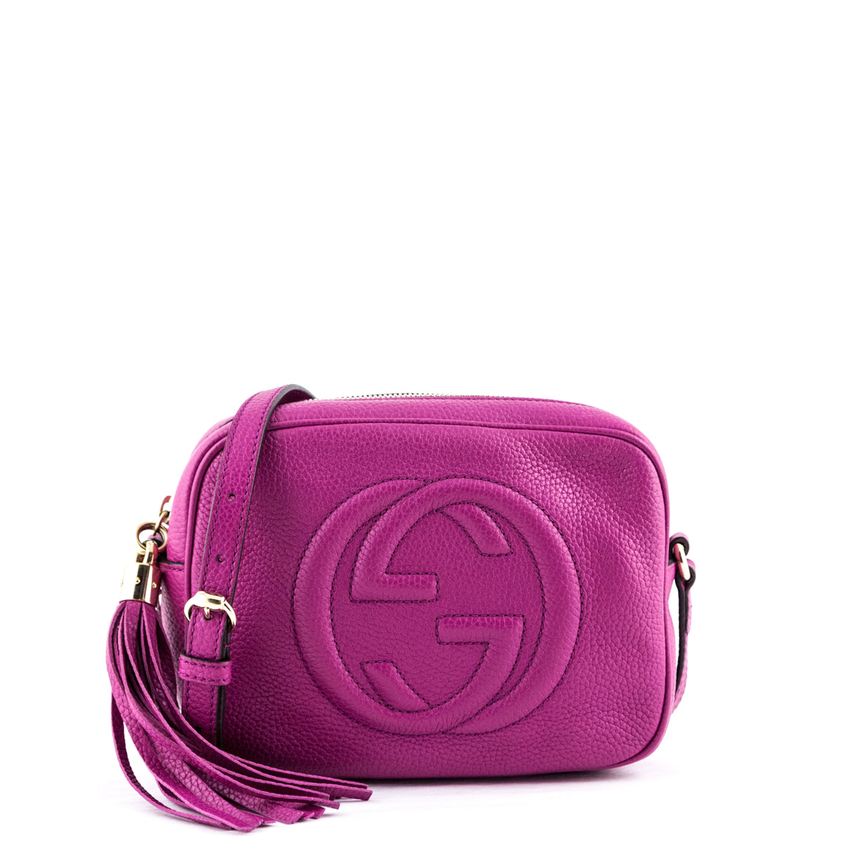175baa9c5018 Gucci Fuchsia Pink Soho Disco - LOVE that BAG - Preowned Authentic Designer  Handbags ...