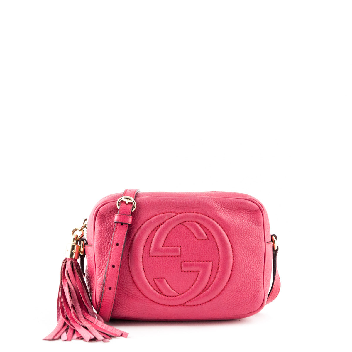 ffd69f03 Gucci Pink Soho Disco - LOVE that BAG - Preowned Authentic Designer  Handbags ...