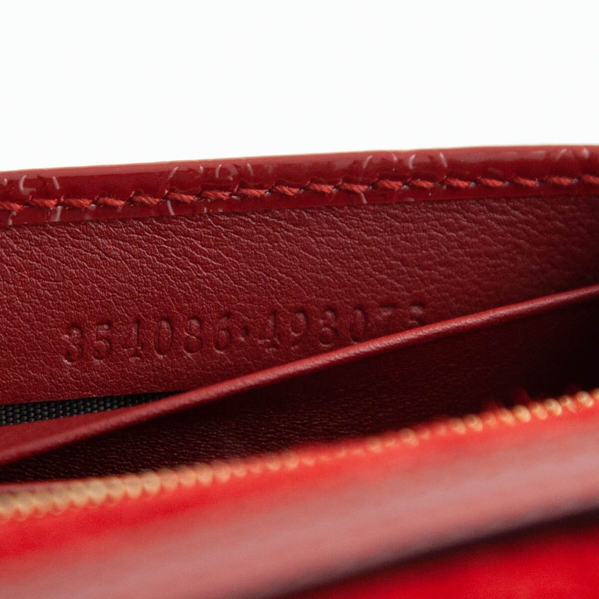 0748ea859ac751 ... Gucci Red Patent Micro Guccissima Nice Wallet on Chain - LOVE that BAG  - Preowned Authentic