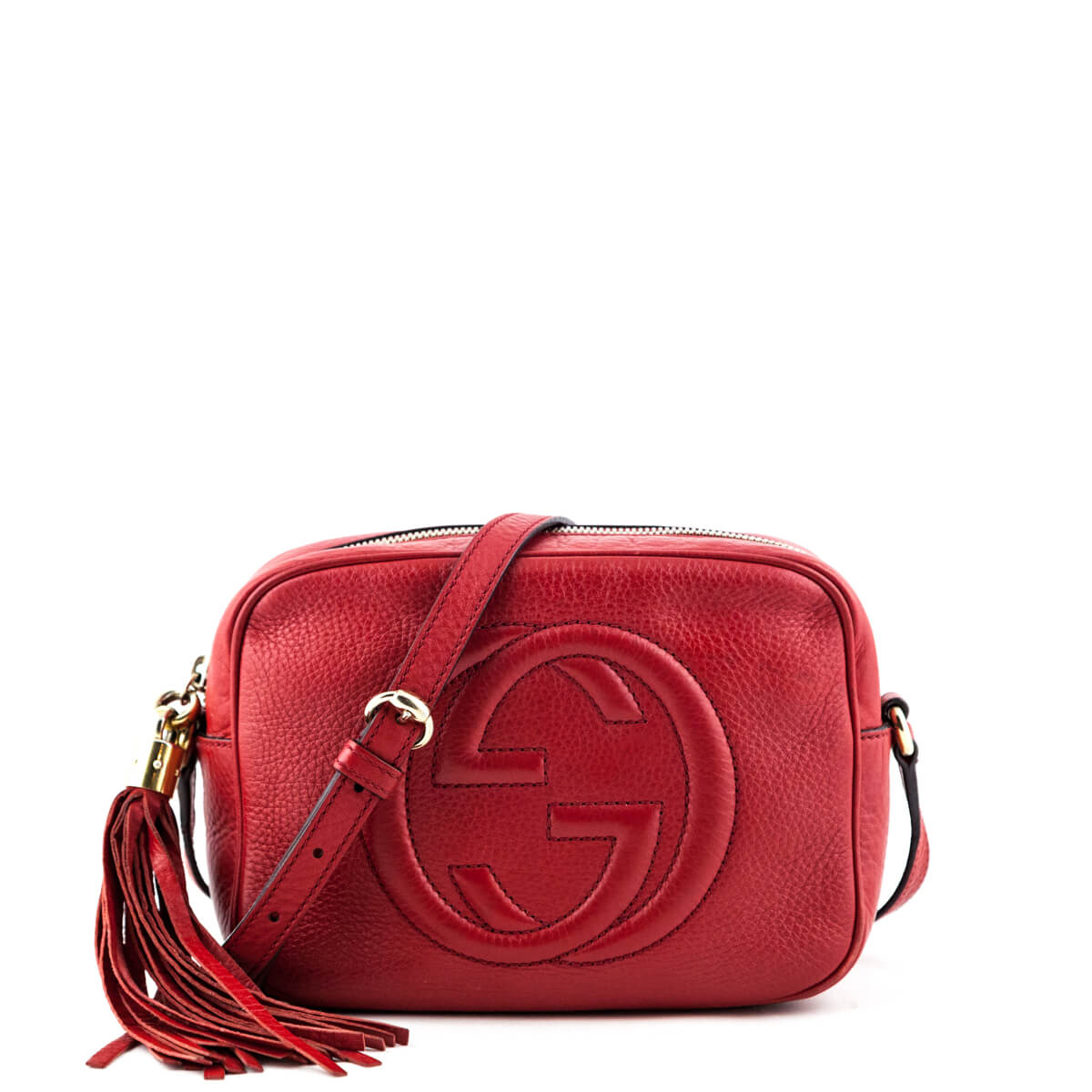 14aa5ef7f607c Gucci Red Soho Disco - LOVE that BAG - Preowned Authentic Designer Handbags  ...