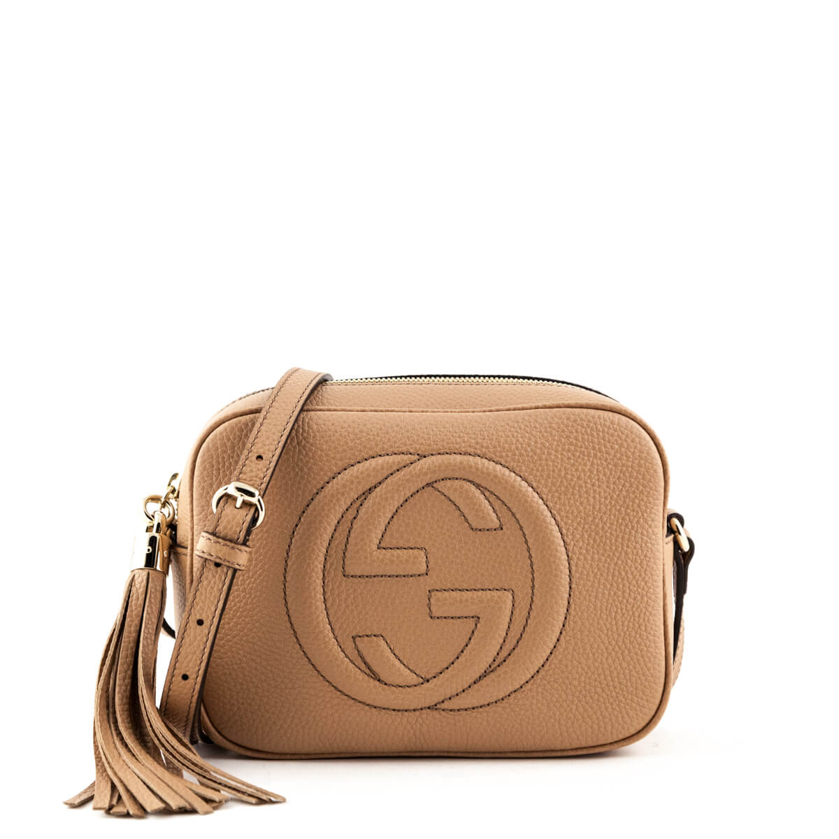 c76b2827152 Gucci Rose Beige Soho Disco - LOVE that BAG - Preowned Authentic Designer  Handbags ...