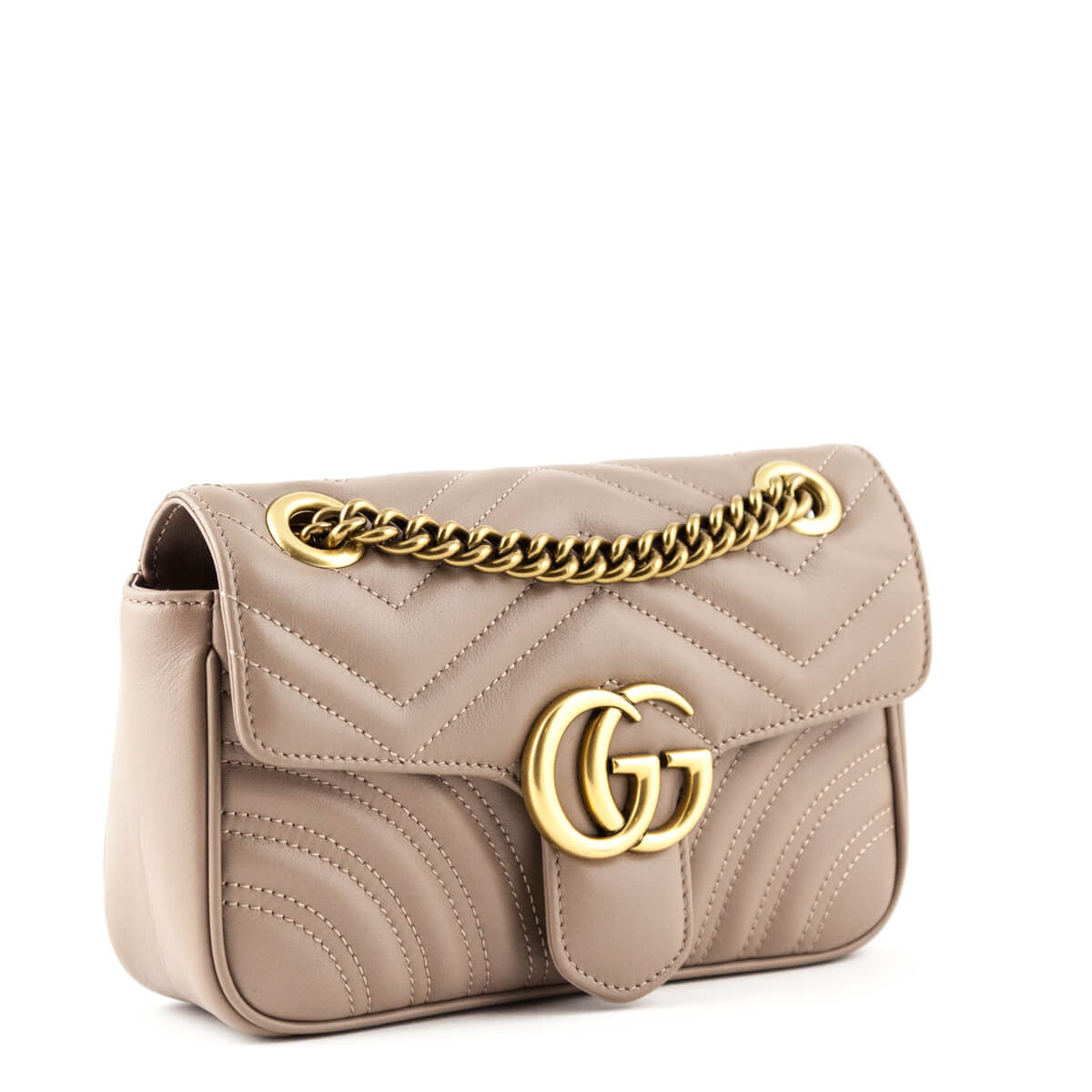 f33e4b229e0 ... Gucci Rose Matelasse Calfskin Mini GG Marmont 2.0 Bag - LOVE that BAG -  Preowned Authentic ...