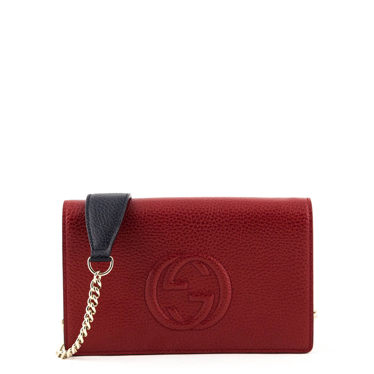 52ed00eddd4 Gucci Tricolor Soho Wallet On Chain - LOVE that BAG - Preowned Authentic  Designer Handbags ...
