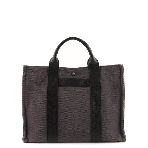 Hermes Charcoal Toile Sac Harnais MM Tote - LOVE that BAG - Preowned  Authentic Designer Handbags 8f3f70d906161
