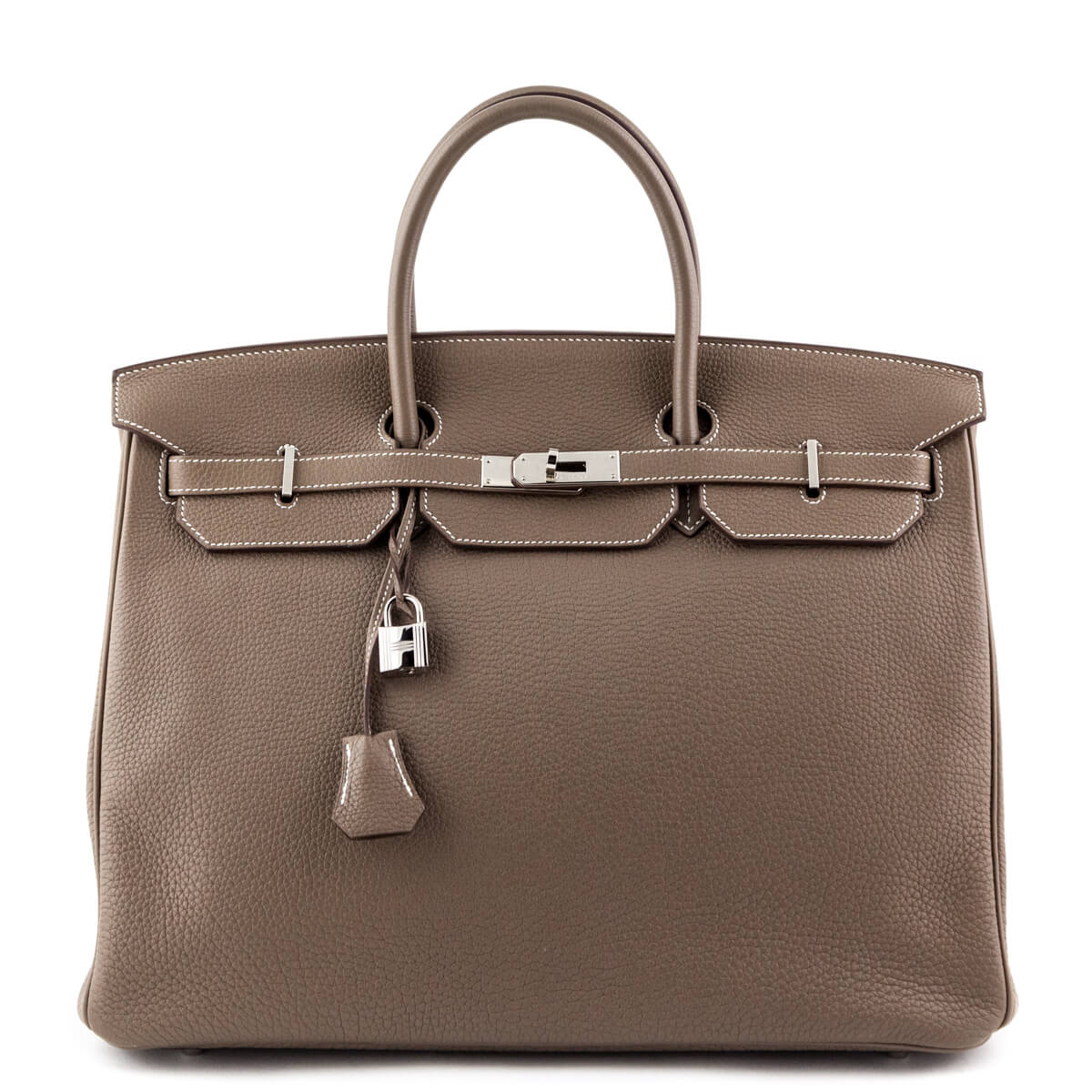 31179db492c3 Hermes Etoupe Togo Birkin 40 - LOVE that BAG - Preowned Authentic Designer  Handbags ...